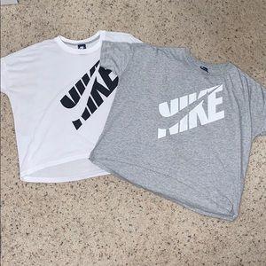 X2 Nike shirts